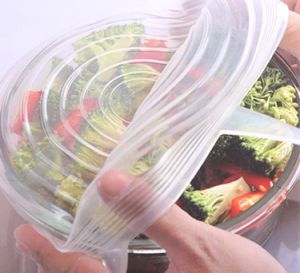 8 Packs Reusable Super Stretch Expand Silicone Sealing Food Cover pictures & photos