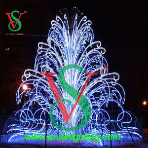 3D Large Outdoor christmas Festival Decoration Fourtain Light pictures & photos