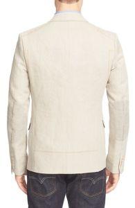 OEM Latest Design Fashion Linen Blazer for Men pictures & photos