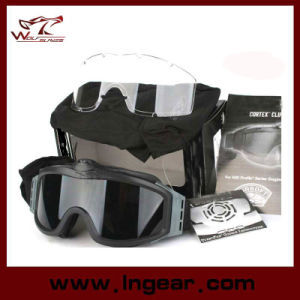 Airsoft Goggle Tactical Turbofan Goggles with 2 Speed pictures & photos