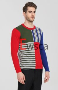 Men′s Color Patterns Pure Cashmere Sweater pictures & photos