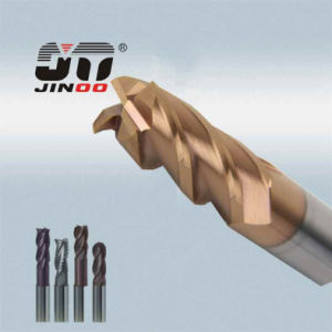 HRC55 Solid Carbide End Mill for Stainless Steel pictures & photos