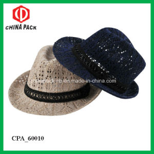 Spring Fedora Hats with Beautiful Design for Woven (CPA_60224) pictures & photos