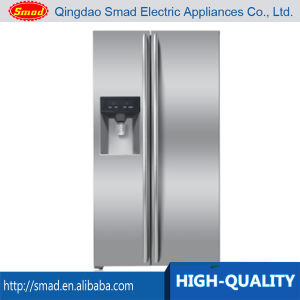 a+ Home Use Side by Side No Frost Refrigerator with Water Dispenser and Ice Box pictures & photos