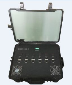 Defense Casing Portable 6CH 300W Built-in Battery and Directional Antenna Ldc Display Battery Capacity RF Signal Jammer pictures & photos