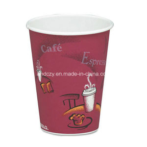 Wholesale Good Quality 12oz Disposable Single Wall Coffee and Tea Paper Cup pictures & photos