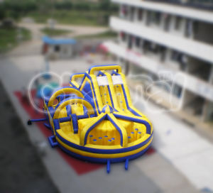 Inflatable Tunnel Millennium Obstacle 3 Parts Detachable pictures & photos