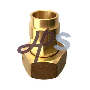 Forging Brass Solder (welding) Water Meter Coupling pictures & photos