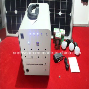 100W Solar Home Lighting System with 2 Bulbs pictures & photos