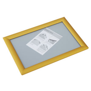"Gold Color Snap Frame 8.5X11"" Poster Frame pictures & photos"
