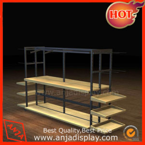 MDF and Metal Display Stand for Garment Shops pictures & photos