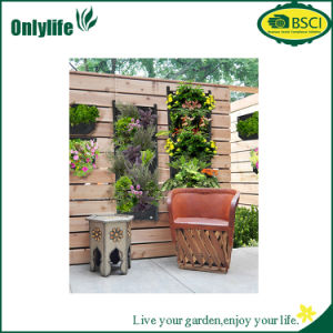 Onlylife PE Fabric Vertial Hanging Planter Garden Grow Bag pictures & photos