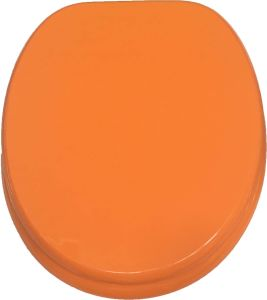 Wholesale Orange MDF Toilet Seat