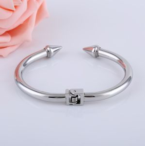 Stainless Steel Bracelet Fashion Jewelry Nail Cuff Bracelet/Bangle pictures & photos