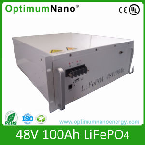 48V 100ah LiFePO4 Battery for Solar Power System pictures & photos