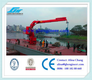 Knuckle Boom Hydraulic Marine Crane Ship Deck Crane pictures & photos