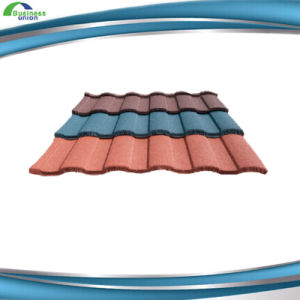 Hot Sale Color Stone Coated Metal Roof Tile