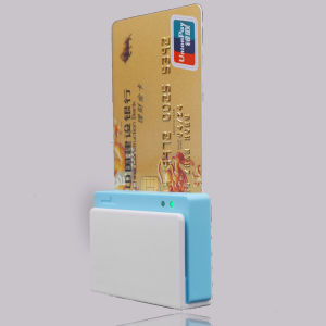 Bluetooth Interface Mobile Magstripe Card Reader with IC EMV Chip Card Readere for Android, Ios Development