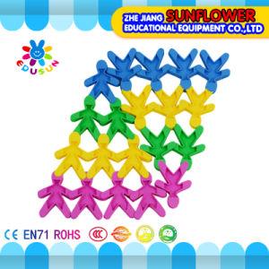 Children Plastic Desktop Toy Soft Doll Building Blocks
