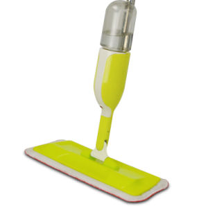 Cleaning Product Steel Pole Microfiber Spray Mop pictures & photos