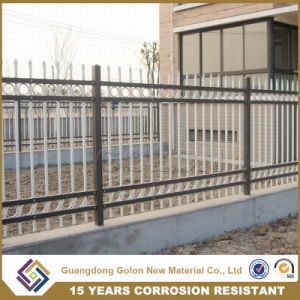 Galvanized Steel Security Palisade Fence pictures & photos