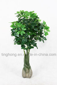 New Design Artificial Tree with 88 Macrocarpa Leaves