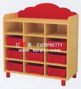 New Design Children Daycare Furniture Kid′s Cabinet Wardrobe pictures & photos