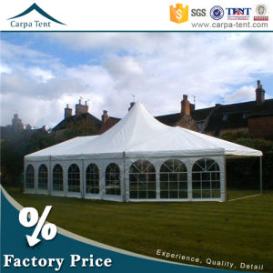 Economical Wooden Floor Mixed Marquee Outdoor Party Tent for Sale pictures & photos