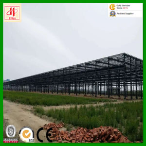 Customized Low Cost Prefab Steel Structure for Workshop pictures & photos