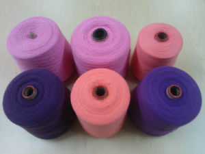 Yarn of Cotton / Acrylic 60/40 (Ne28/2 Dyed) pictures & photos