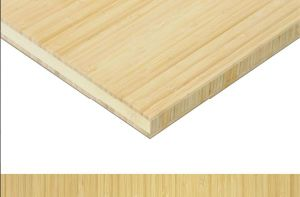 "3/4"" Vertical Natural 3 Ply Bamboo Plywood pictures & photos"