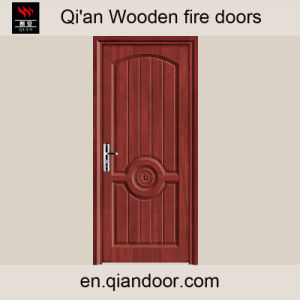 Fire Wooden Door MDF Interior Wooden Room Door pictures & photos
