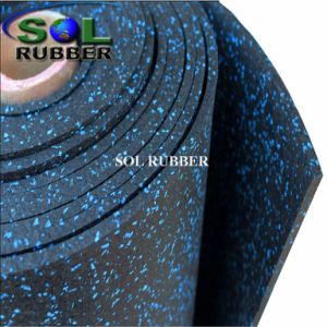 Fire Resistance Fitness Commercial Gym Rubber Flooring pictures & photos