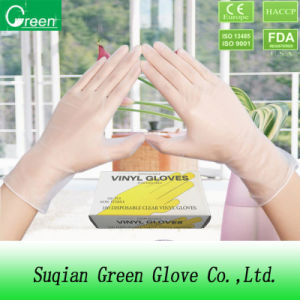 Clear Medical Product Latex Free Gloves pictures & photos