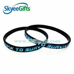Custom High Quality Silicone Wristband for Company pictures & photos