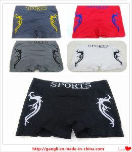 Cheap Stylish Multi-Color Solid Men′s Sport Underwear