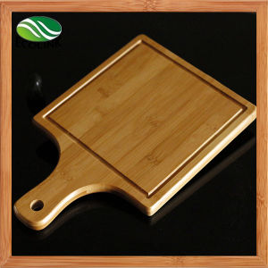 Bamboo Pizza Tray with Handle and Pizza Knife pictures & photos