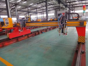CNC Plasma Gantry Type Cutting Machine pictures & photos