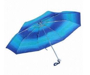Cheap 3 Folded Umbrella, Market Umbrella (BR-FU-137) pictures & photos