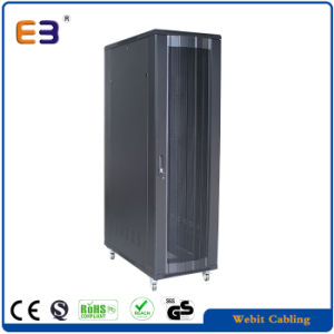 """22-42u Server Cabinet with Perforated Door for 19"""" Telecom Equipments pictures & photos"""