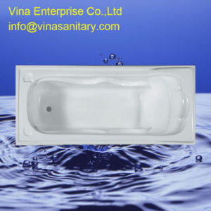 High Pillow Popular Good Quality Acrylic Bathtub