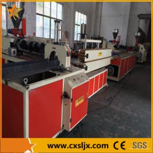 WPC Profile Extrusion Machine Line for Wood Plastic Door Frame Flooring pictures & photos