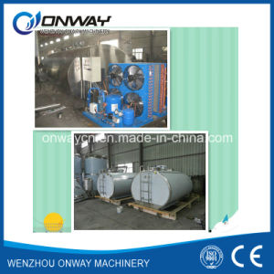 Shm Stainless Steel Cow Milking Machine Milk Tank for Milk Cooling with Cooling System pictures & photos