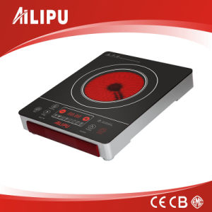 CB Certification with Metal Housing Touching Screen Big Size Electric Infrared Cooker with Handles pictures & photos