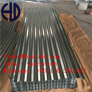 High Quality Colored Zinc Aluminium Corrugated Roofing Sheets pictures & photos