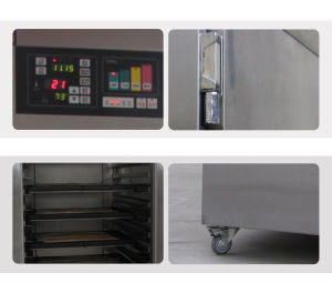 Restaurant Bakery Equipment Automatic Bread Dough Rack Proofer pictures & photos