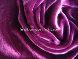 Velvet Rayon Fabric pictures & photos