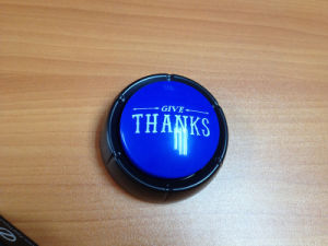 Sound Talking Button for Promotion Gift pictures & photos
