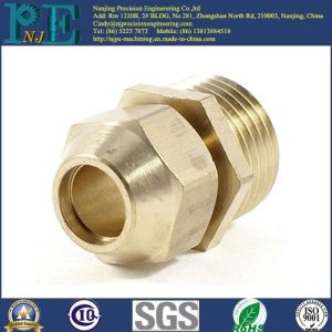 Customized Brass Male Threaded Bushing Hydraulic Fittings pictures & photos