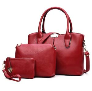 Leisure 3PCS Set Fashion Bag Women Ladies Shopping Designer Handbag (XM0292) pictures & photos